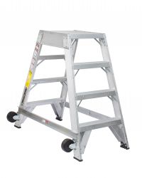 Louisville Type IA 4 ft Aluminum Platform Step Ladder
