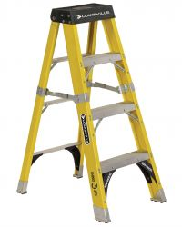 Louisville Type IAA 4 ft Fiberglass Standard Step Ladder