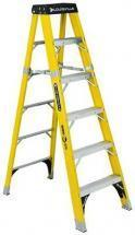Louisville Type IAA 6 ft Fiberglass Standard Step Ladder