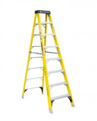 Louisville Type IAA 8 ft Fiberglass Standard Step Ladder