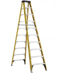Louisville Type IAA 10 ft Fiberglass Standard Step Ladder