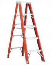 Louisville Type IAA 5 ft Fiberglass Standard Step Ladder