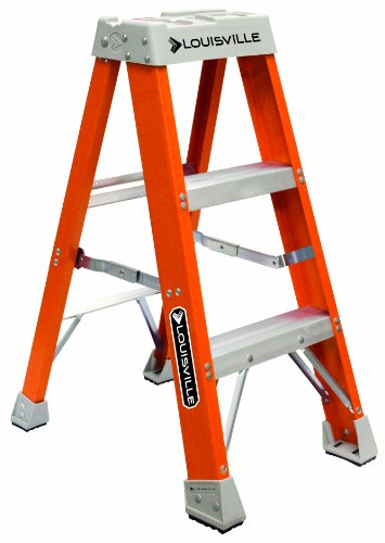 Louisville Type IA 3 ft Fiberglass Standard Step Ladder