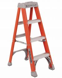 Louisville Type IA 4 ft Fiberglass Standard Step Ladder