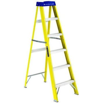 Louisville Type I 6 ft Fiberglass Standard Step Ladder