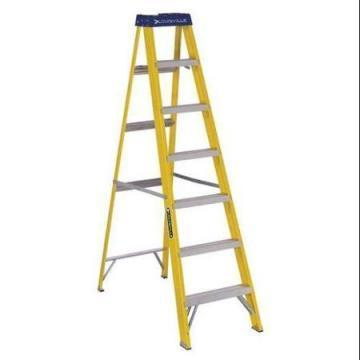 Louisville Type I 7 ft Fiberglass Standard Step Ladder