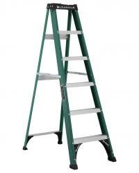 Louisville Type II 6 ft Fiberglass Standard Step Ladder