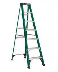 Louisville Type II 7 ft Fiberglass Standard Step Ladder