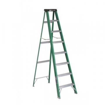 Louisville Type II 8 ft Fiberglass Standard Step Ladder