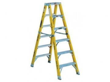 Louisville Type IAA 8 ft Fiberglass Twin Front Step Ladder
