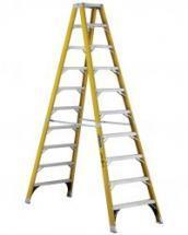 Louisville Type IAA 10 ft Fiberglass Twin Front Step Ladder