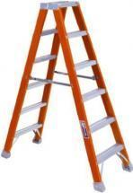 Louisville Type IA 6 ft Fiberglass Twin Front Step Ladder