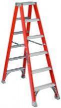 Louisville Type IA 10 ft Fiberglass Twin Front Step Ladder