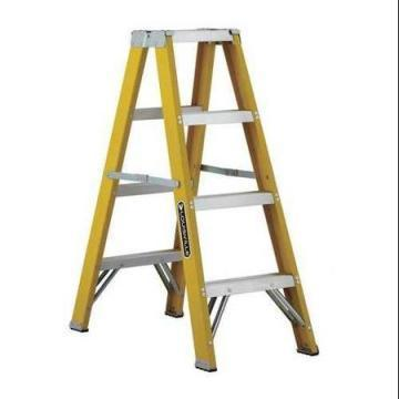 Louisville Type I 4 ft Fiberglass Twin Front Step Ladder