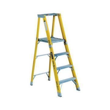 Louisville Type IAA 4 ft Fiberglass Platform Step Ladder