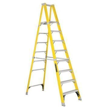Louisville Type IAA 8 ft Fiberglass Platform Step Ladder