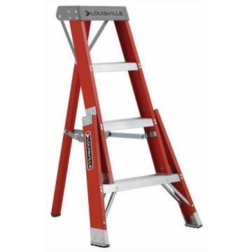 Louisville Type IA 4 ft Fiberglass Tripod Step Ladder