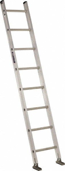 Louisville Type IA 8 ft Aluminum Single Extension Ladder