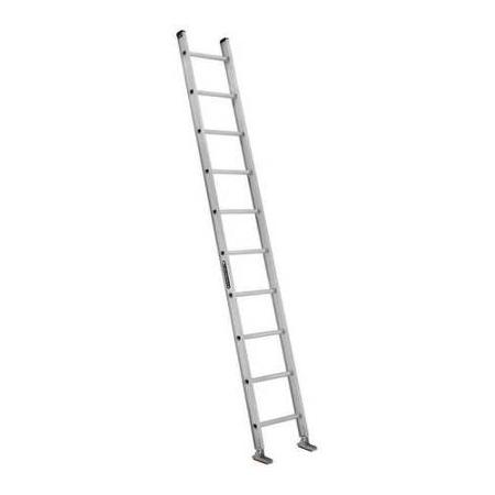 Louisville Type IA 10 ft Aluminum Single Extension Ladder