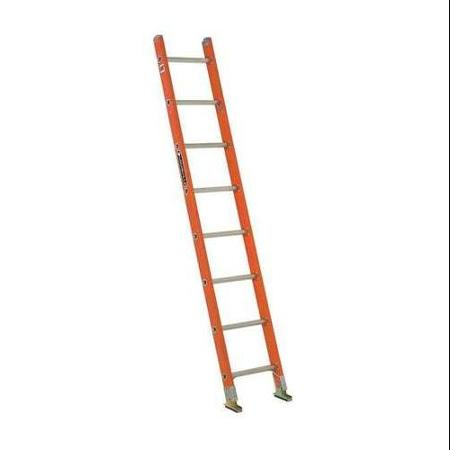 Louisville Type IA 8 ft Fiberglass Shelf Extension Ladder
