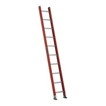 Louisville Type IA 10 ft Fiberglass Shelf Extension Ladder