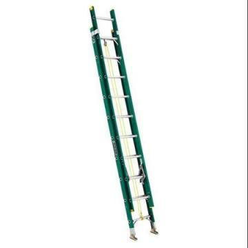 Louisville Type II 20 ft Fiberglass Multi-section Extension Ladder