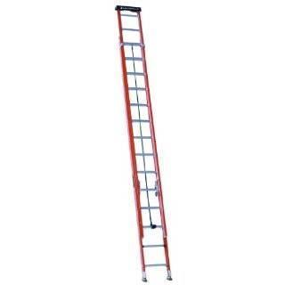 Louisville Type II 24 ft Fiberglass Multi-section Extension Ladder