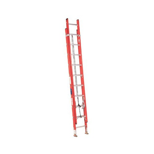 Louisville Type IA 20 ft Fiberglass Multi-section Extension Ladder
