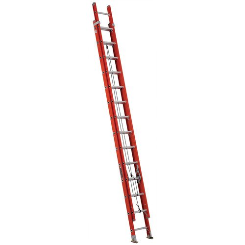 Louisville Type IA 28 ft Fiberglass Multi-section Extension Ladder