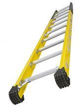 Louisville Type IAA 10 ft Fiberglass Manhole Extension Ladder