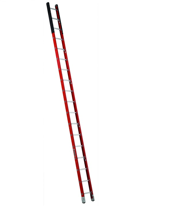 Louisville Type IAA 16 ft Fiberglass Manhole Extension Ladder