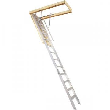 Louisville Type AA2210 Aluminum Attic Ladder