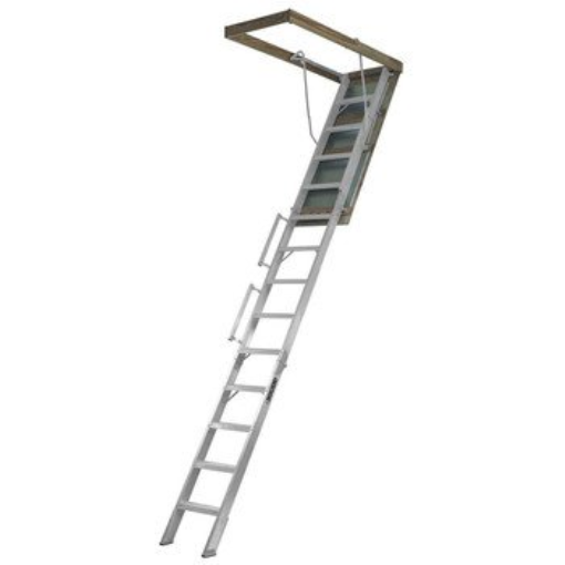 Louisville Type AL258P Aluminum Attic Ladder