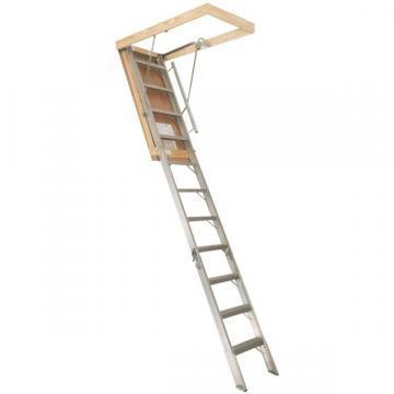Louisville Type FTAA2510 Aluminum Attic Ladder