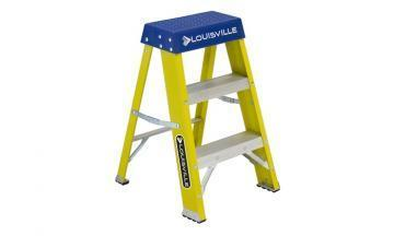 Louisville Type IA 2 ft Fiberglass Domestic Step Stool