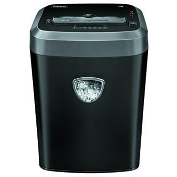Fellowes Powershred 74c Medium-Duty Cross-Cut Shredder, 14 Sh