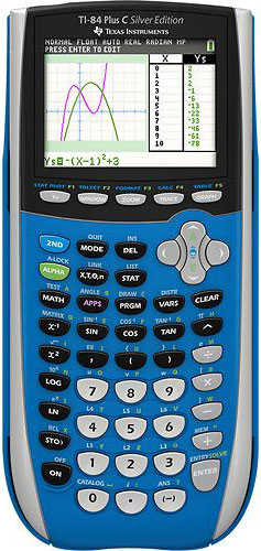 Texas Instruments TI-84Plus C Programmable Color Graphing Calculator