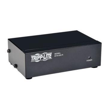 Tripp Lite Video Splitter, VGA/SVGA, 2-Port Signal Booster