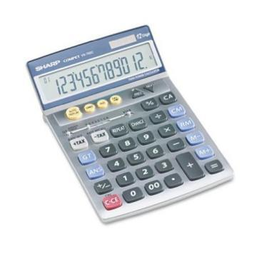 Sharp VX792C Portable Desktop/Handheld Calculator