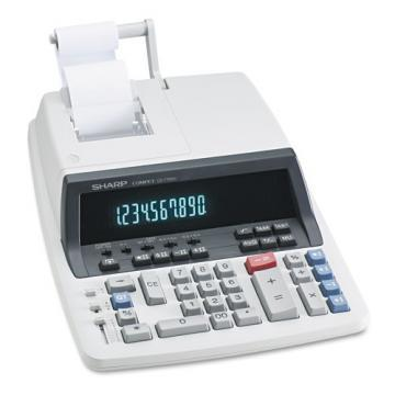 Sharp QS-1760H Two-Color Ribbon Printing Calculator
