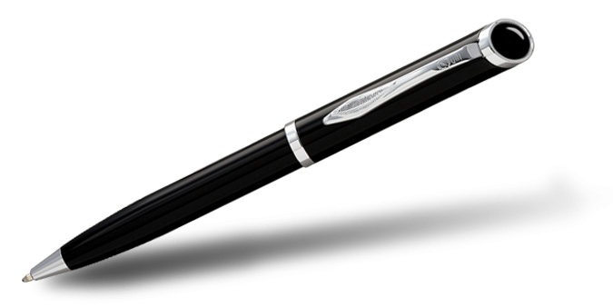 Sanford Quill 58 Black CT Ball Pen