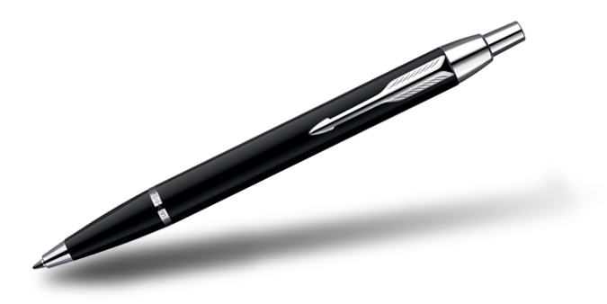 Parker IM Ball Pen Laque Black CT