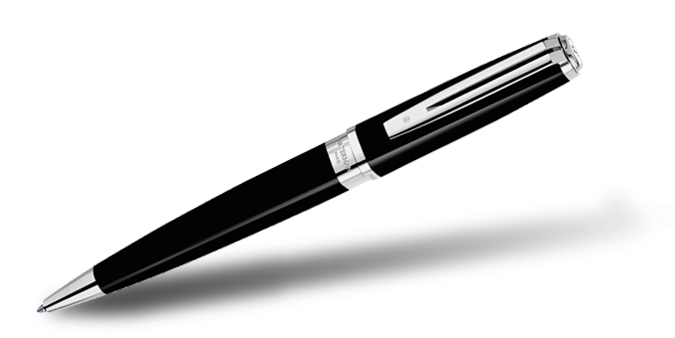 Waterman Exception Slim Black ST Ball Pen
