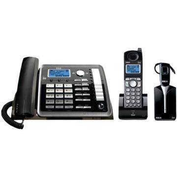 RCA ViSYS 25270RE3 Two-Line Corded/Cordless Phone System