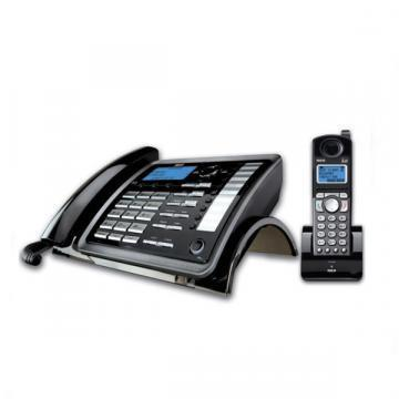 RCA ViSYS 25255RE2 Two-Line Corded/Cordless Phone System