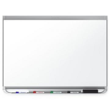 Quartet Prestige 2 DuraMax Porcelain Magnetic Whiteboard, Graphite Finish Frame