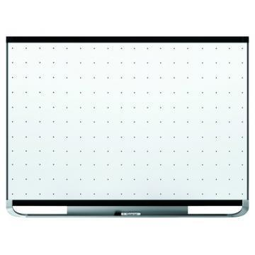 Quartet Prestige 2 Total Erase Magnetic Whiteboard, Black Aluminum Frame