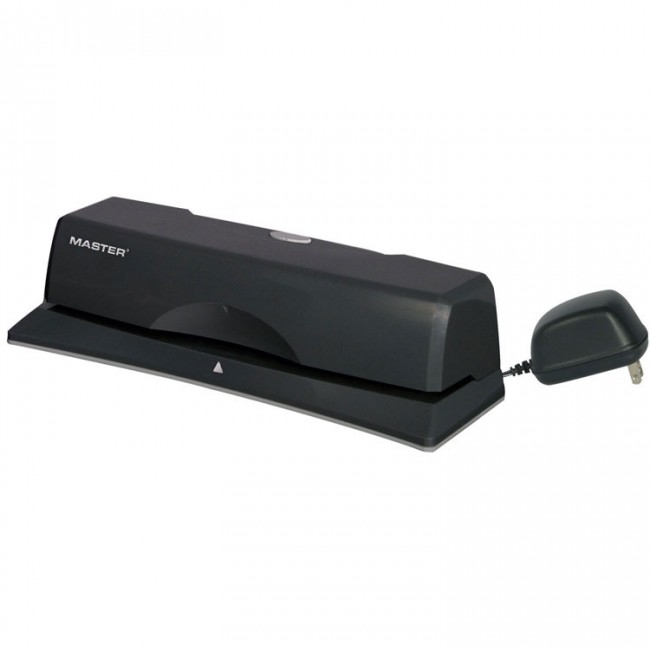 Martin Yale EP312 10-Sheet Electric/Battery 3-Hole Punch