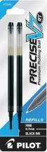 Pilot Precise V7 retractable pen refill, 2 pack