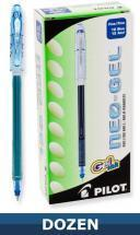 Pilot Neo-Gel Stick pen with Gel Ink, Blue, Dozen Box